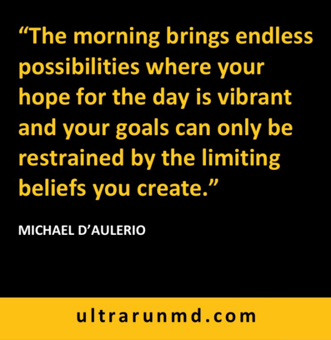 Quick Guide: Ultra Marathon Race Day Morning 2